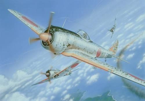 Special Hobby Nakajima Ki-43-II Ko Hajabusa / Oscar makett