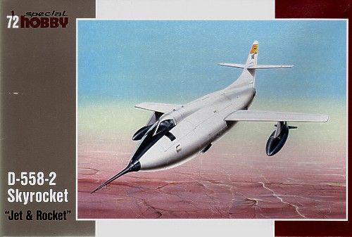 Special Hobby D-558-2 Skyrocket Jet and Rocket makett