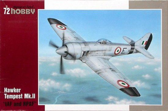 Special Hobby Hawker Tempest Mk. II IAF & RPAF makett