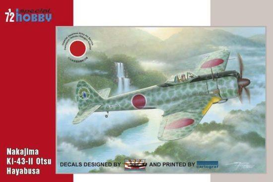 Special Hobby Nakajima Ki-43-II Otsu makett
