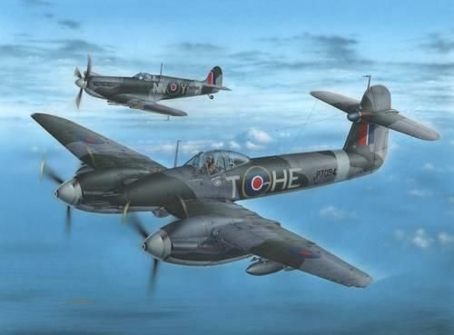 Special Hobby Westland Whirlwind F Mk.I Cannon Fighter makett