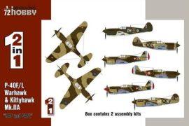 """Special Hobby P-40F/L & Kittyhawk Mk.IIA """"RAF&FAFL"""""""