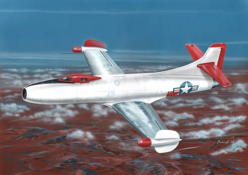 "Special Hobby D-558-I Skystreak ""NACA"" makett"