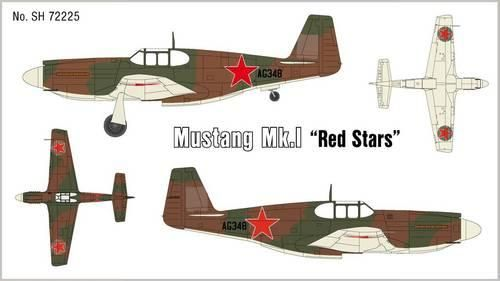 Special Hobby Mustang Mk.1 Red Stars