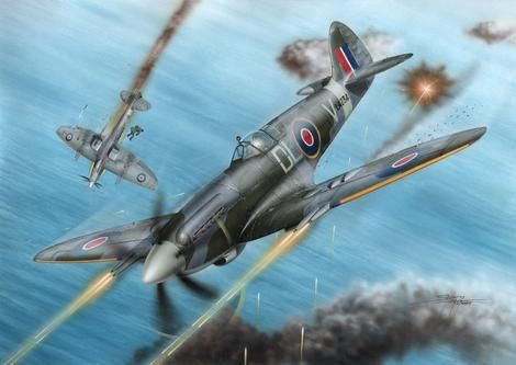 Special Hobby Spitfire F Mk.21 No.91 Sq.RAF in WWII