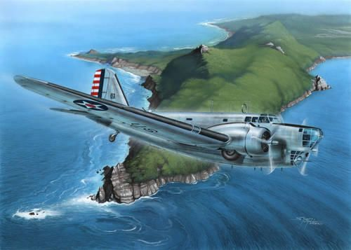 "Special Hobby B-18A Bolo ""At War"" makett"