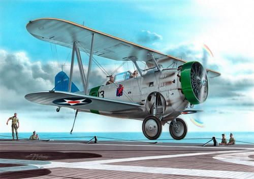 Special Hobby FF-1 US Navy Two-seat Fighter makett