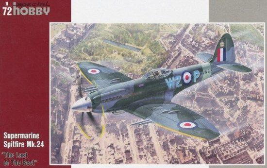 Special Hobby Supermarine Spitfire Mk.24 makett
