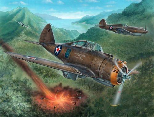 "Special Hobby P-35A ""Philippines Defender makett"