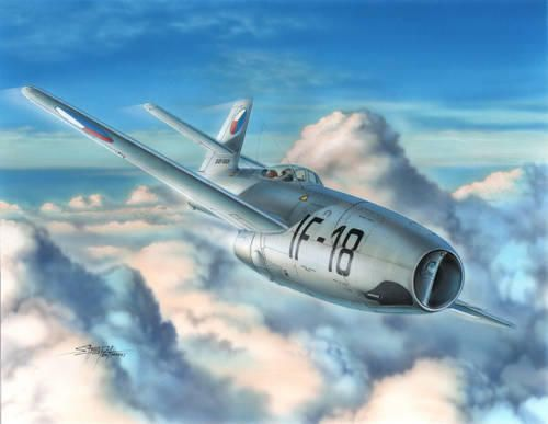 "Special Hobby Yakovlev Yak-23 Flora ""Warsaw Pact"" makett"