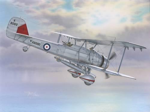 Special Hobby Vickers Vildebeest Mk.IV makett