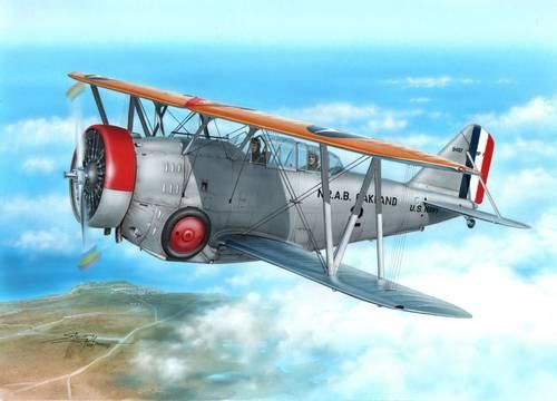 Special Hobby SF-1/FF-2 US Navy Scout Fighter-Trainer makett
