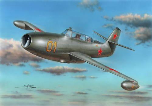 Special Hobby Yakovlev Yak-23 Flora Two-Seater makett