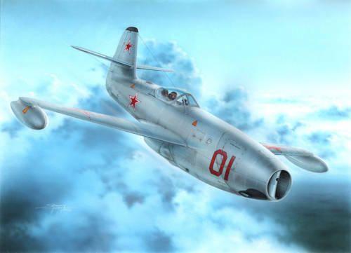 """Special Hobby Yakowlev Yak-23 Flora """"Red&White Stars"""" makett"""