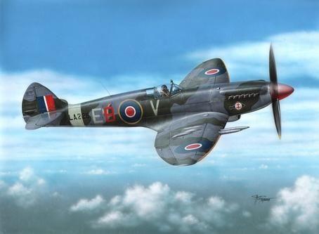 "Special Hobby Spitfire F Mk 21 ""Post WWII Service"" makett"
