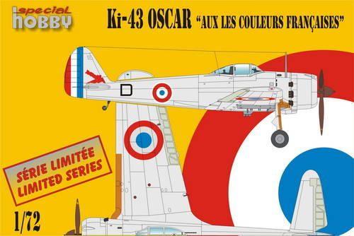 """Special Hobby Ki-43-III Oscar """"Aux Les Coleurs Franc."""" makett"""