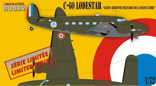 "Special Hobby L-60 Lodestar ""Lignes Aeriennes Milit... makett"