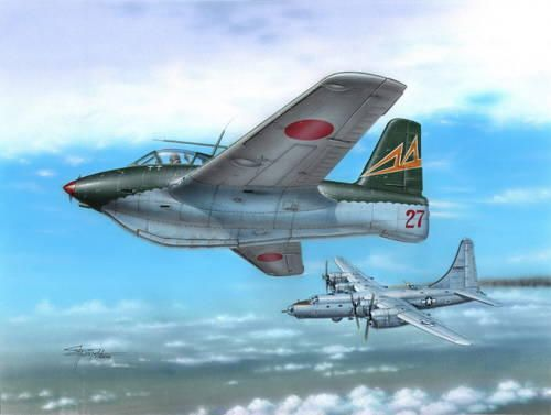 Special Hobby Messerschmitt Me 163C What If War makett