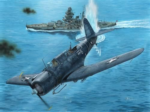 "Special Hobby SB2U-3 Vindicator ""Marines Go To War"" makett"