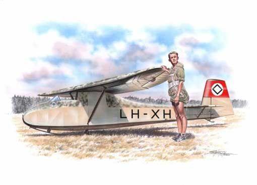 "Special Hobby Grunau Baby IIb ""WWII Service"" makett"