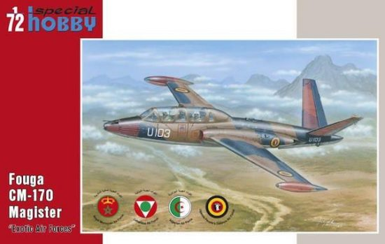 Special Hobby Fouga Magister Exotic Air Forces makett