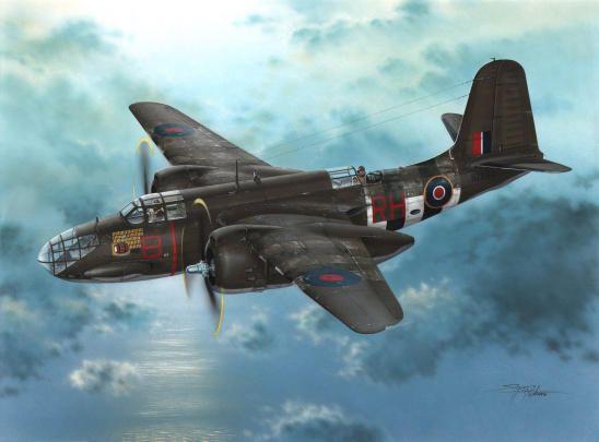 Special Hobby Boston Mk.IIIA Over D-Day Beaches makett