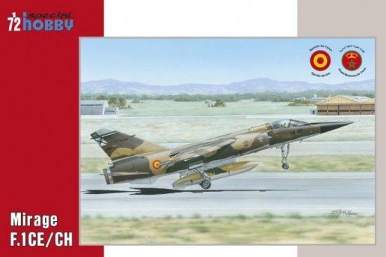 Special Hobby Dassault Mirage F.1CE/CH makett