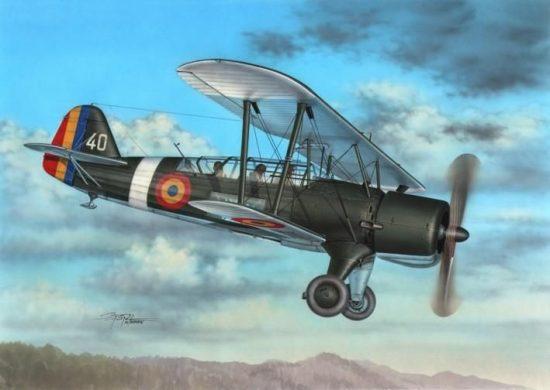 Special Hobby IAR-37 Rumanian Light Bomber makett