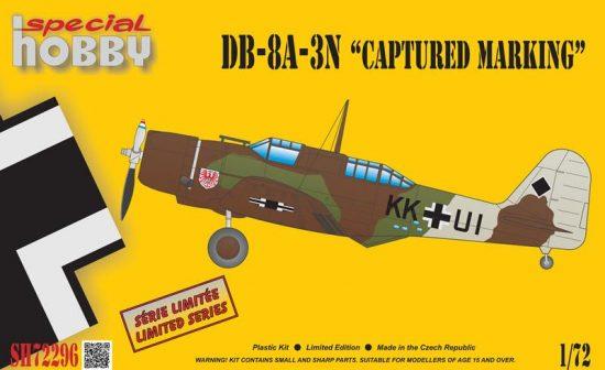Special Hobby Douglas DB-8A-3N German Captured Marking makett