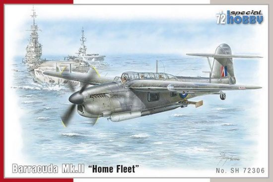 Special Hobby Barracuda Mk.II Home Fleet makett