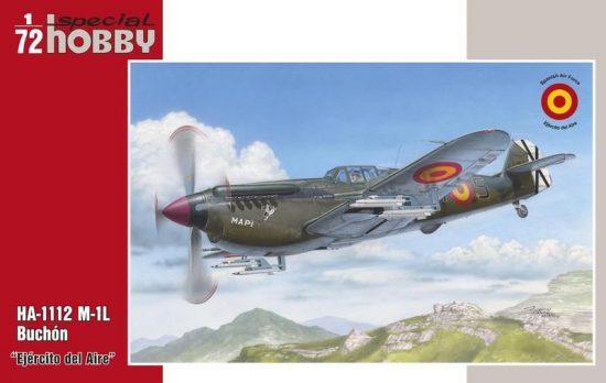 Special Hobby HA-1112M-1L Buchón Ejército del Aire makett