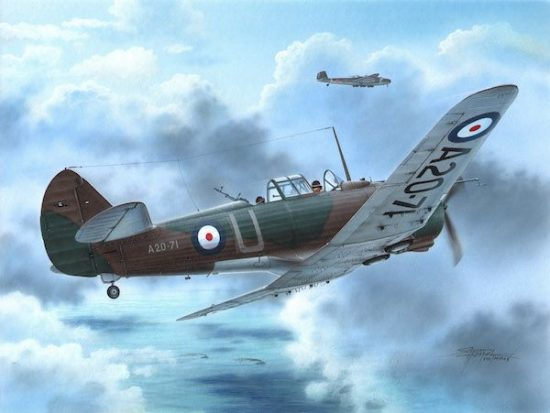 Special Hobby CAC CA-3/5 Wirraway First Blood over Rab makett