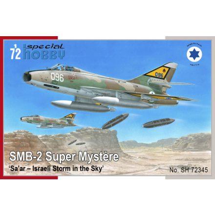 Special Hobby Dassault SMB-2 Super Mystere 'Sa'ar-Israeli Storm in the Sky' makett