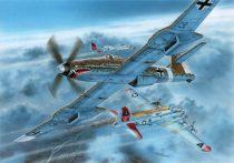 Special Hobby Blohm Voss BV 155B-1 Luftwaffe 46 High Altitude Fighter makett