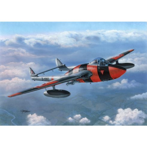 Special Hobby de Havilland DH.100 Vampire 6 with Pinocchio Nose makett