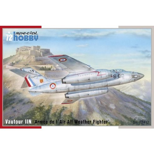 Special Hobby SNCASO SO.4050 Vautour IIN 'Armée de l' Air All Weather Fighter' makett