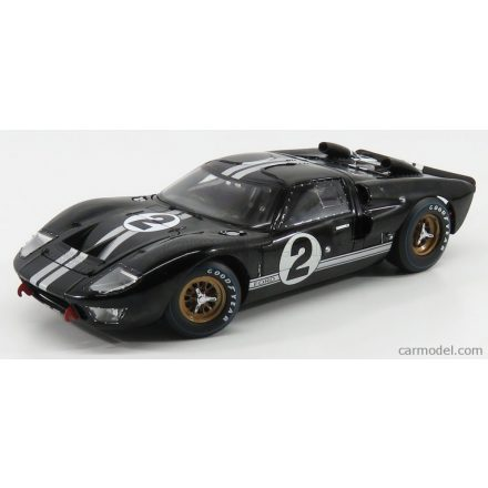 SHELBY-COLLECTIBLES FORD USA GT40 MKII 7.0L V8 TEAM SHELBY AMERICAN INC. N 2 WINNER 24h LE MANS 1966 B.McLAREN - C.AMON