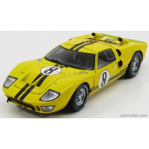SHELBY-COLLECTIBLES FORD USA GT40 MKII COUPE TEAM ALAN MANN RACING LTD N 8 24h LE MANS 1966 J.WHITMORE - F.GARDNER