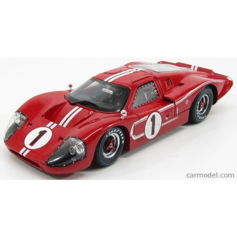 SHELBY-COLLECTIBLES FORD USA GT40 MKIV 7.0L V8 TEAM SHELBY AMERICAN INC. N 1 WINNER 24h LE MANS 1967 A.J.FOYT - D.GURNEY