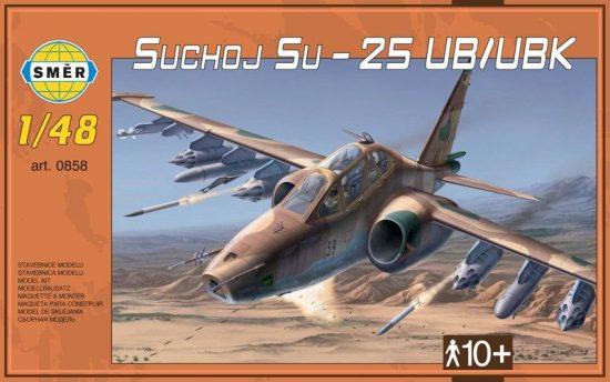 Smer Sukhoi Su-25UB/UBK