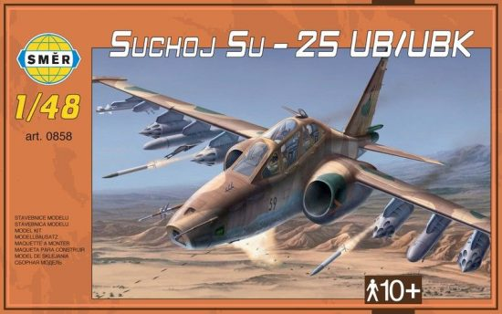 Smer Sukhoi Su-25UB/UBK makett