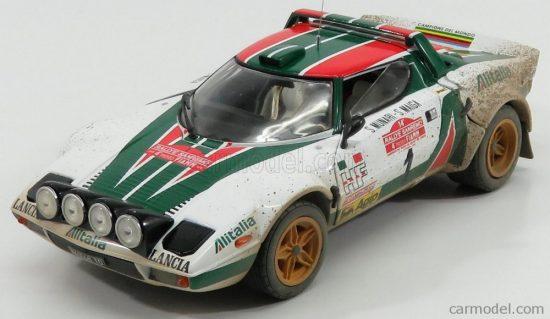 Sun Star Lancia STRATOS HF ALITALIA N 1 2nd RALLY SANREMO 1976 (DIRTY VERSION) S.MUNARI - S.MAIGA