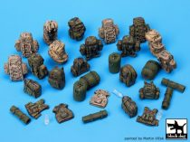 Black Dog German Bundeswehr equipment accessories set