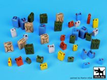 Black Dog Moder plastic cans accessories set