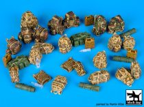 Black Dog British modern equipment accessories set