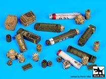 Black Dog British paratrooper equipment accessories set