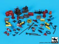 Black Dog Firefighters equipment accessories set
