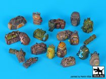 Black Dog Civilian backpacks accessories set