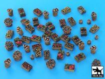 Black Dog Food supplies accessories set
