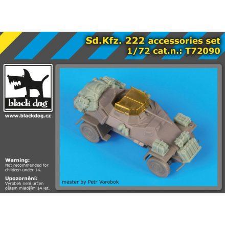 Black Dog Sd.Kfz 222 accessories set for Dragon
